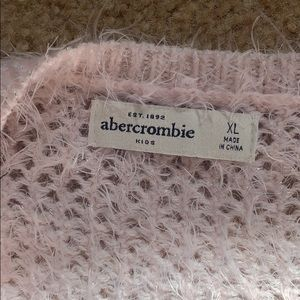 abercrombie kids Sweaters - Fuzzy sweater